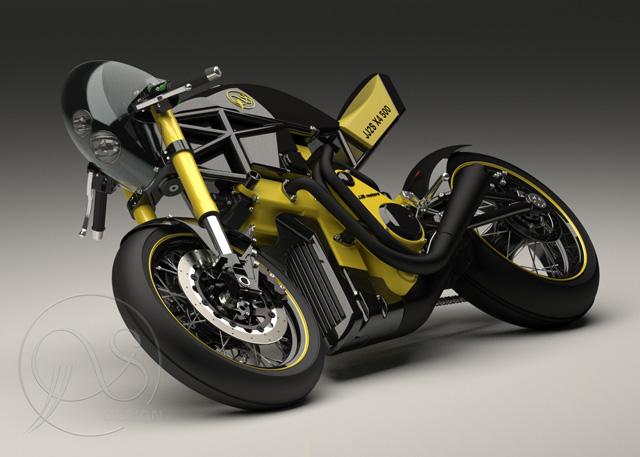 jj2s x4 500 polski projekt motocykla z silnikiem j jacka synakiewicza. Black Bedroom Furniture Sets. Home Design Ideas